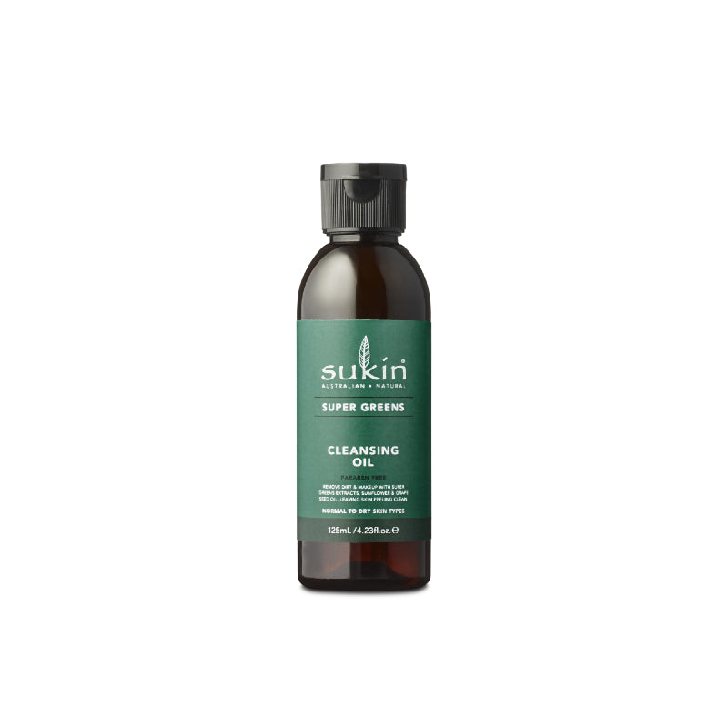 Sukin Super Greens Cleansing Oil 125ml