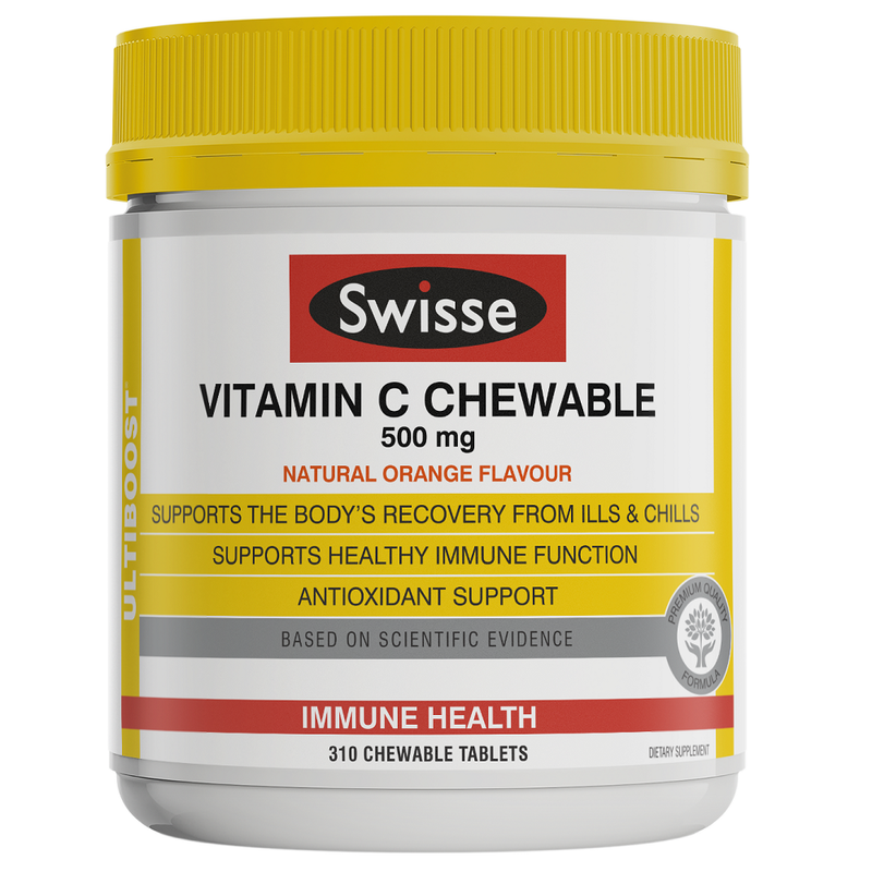 Swisse Ultiboost Vitamin C 310 Chewable Tablets