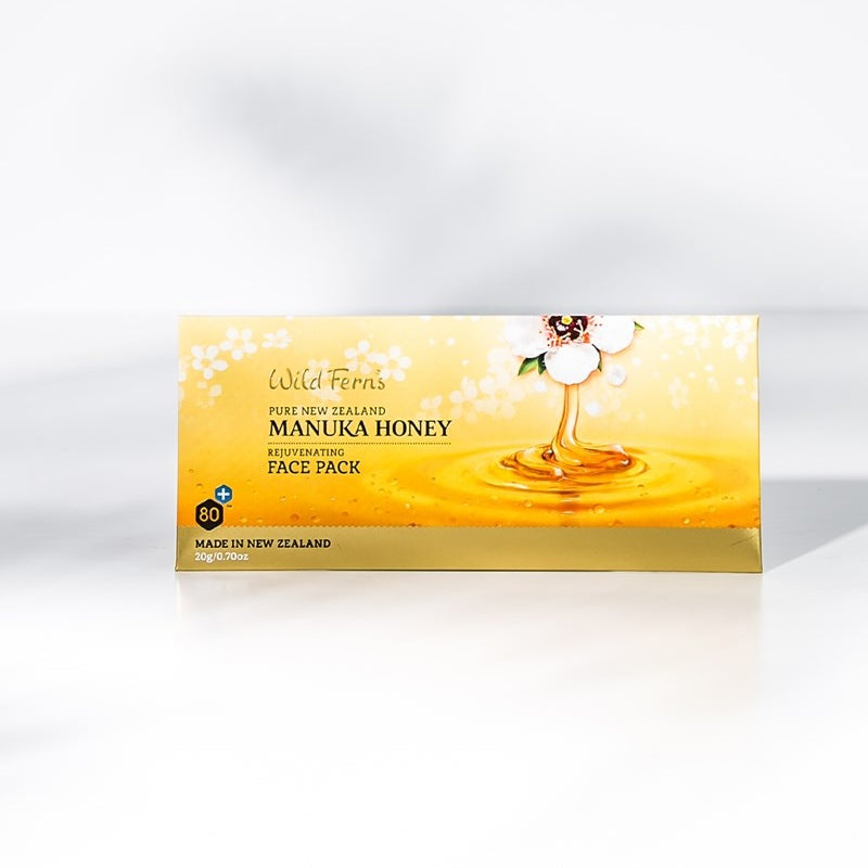 Wild Ferns Manuka Honey Rejuvenating Face Pack Sachet 20g