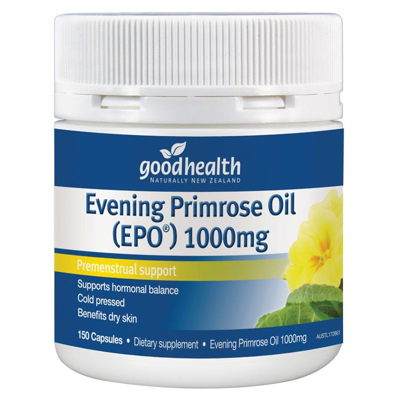 Good Health Evening Primrose Oil 1000mg EPO® Capsules 150