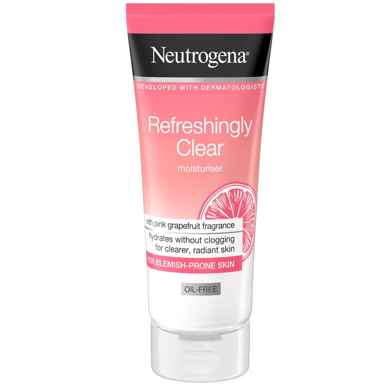 NEUTROGENA Refreshingly Clear Moist Grapefruit Oil-Free Moisturiser 50ml