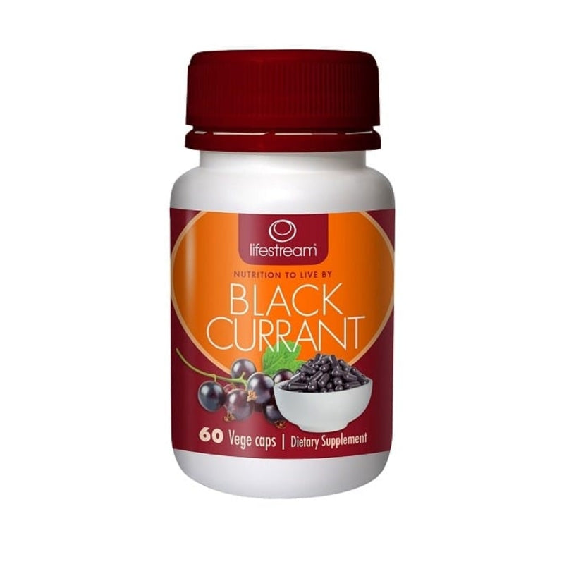 Lifestream Blackcurrant Capsules 60