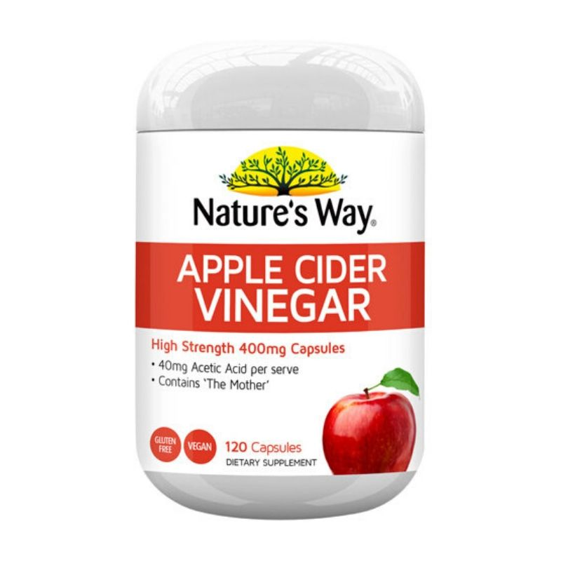 Nature's Way Apple Cider Vinegar 120 Capsules
