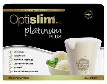 Optislim VLCD Platinum Plus Vanilla 18x53g