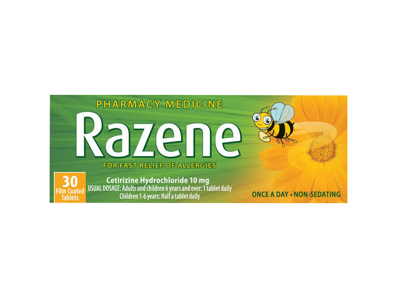 RAZENE 10mg 30 Tablets