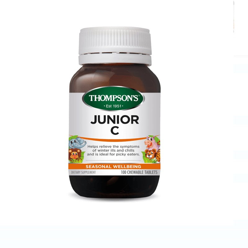 Thompson's Junior C 250mg Chewable 100 Tablets