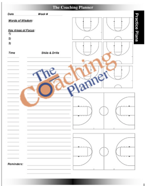 Basketball Coaching Planner