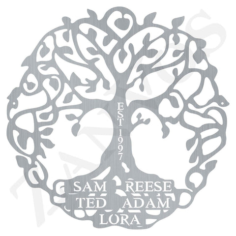 Family Tree Of Life Monogram