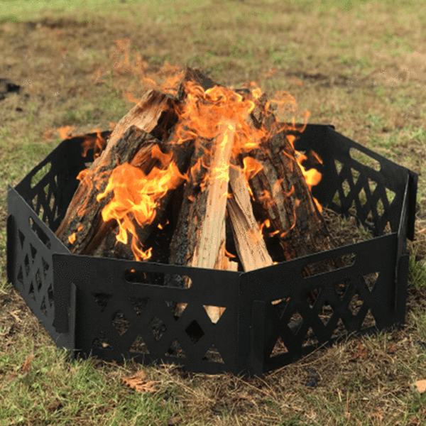 Customizable Portable Fire Ring