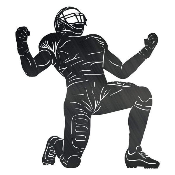 Football Player Monogram