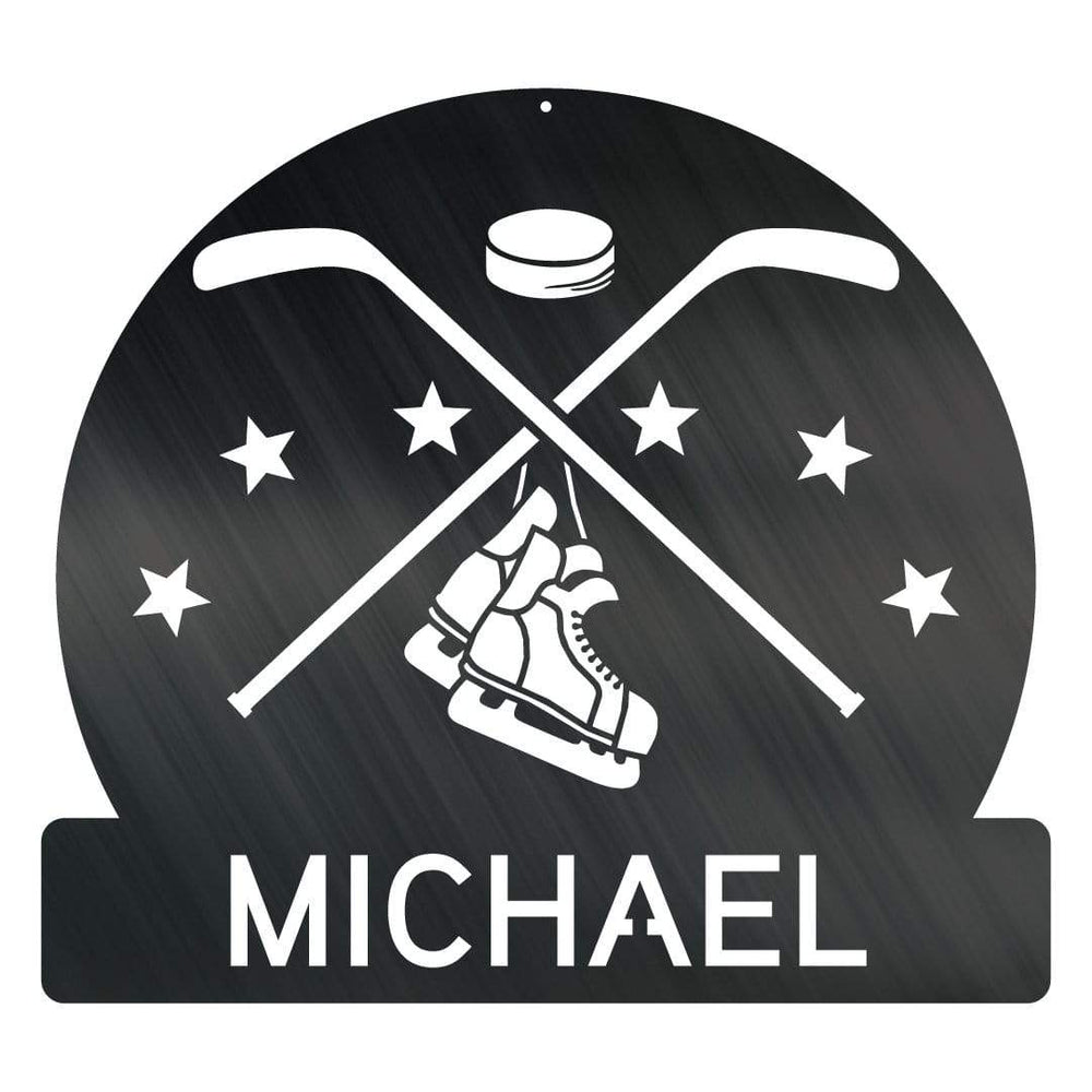 Hockey Monogram