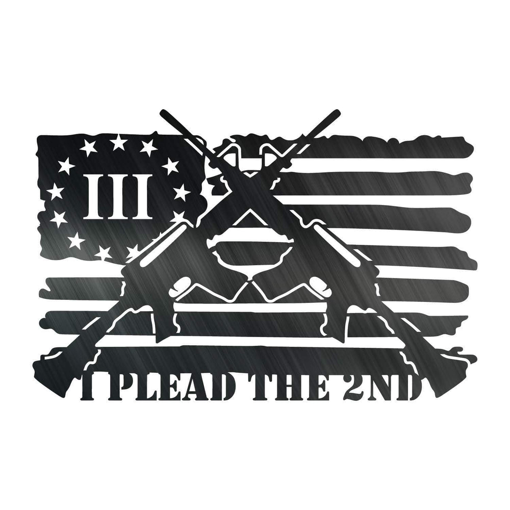 I Plead the 2nd flag