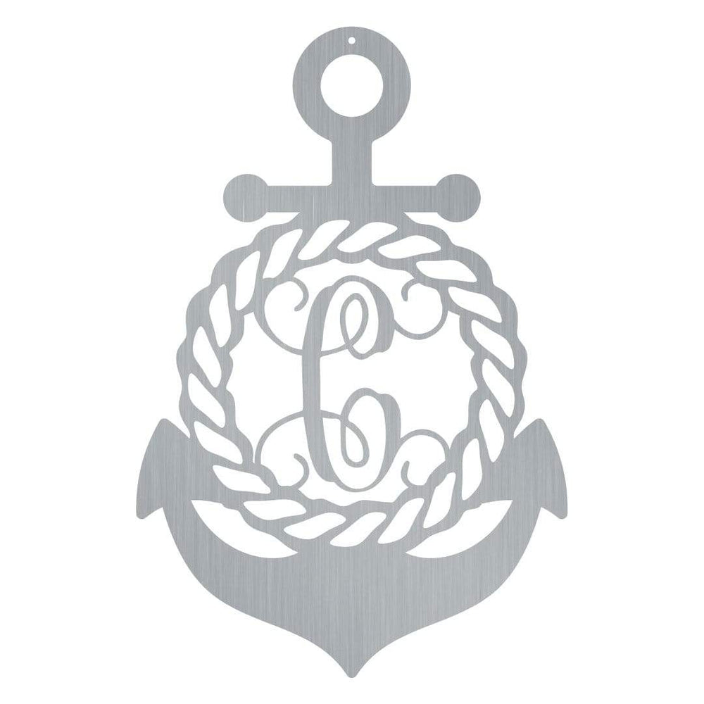 Initial Anchor Monogram
