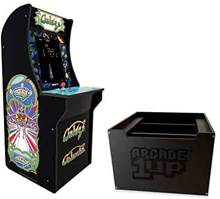 Arcade1Up Galaga Arcade Cabinet + Riser (Pre-order Now. Stock available August 2020)