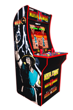 Load image into Gallery viewer, Arcade1Up Mortal Kombat Arcade Cabinet + Riser (Pre-order Release Date August 2020)
