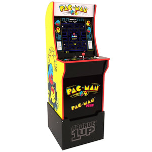 Arcade1Up Pac-Man Arcade Cabinet +Riser (Pre-order Now. Stock available August 2020)