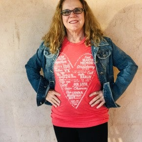 Love Song Tee Heart Valentines