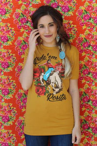 Rodeo Quincy Tshirt Ride 'Em Rosita