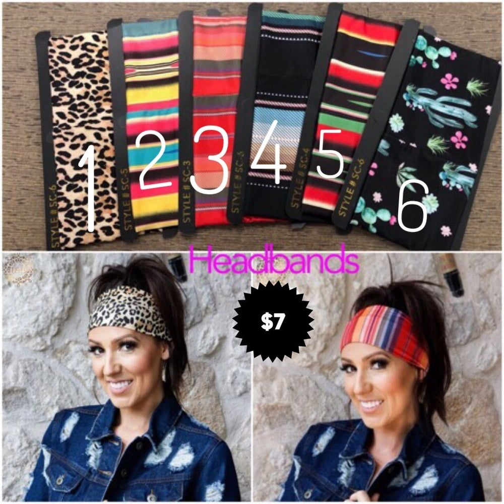 Headbands Mask Multi Colors
