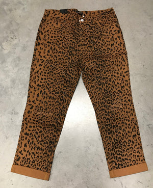 Wild For You Cheetah Animal Print Boyfriend Jeans