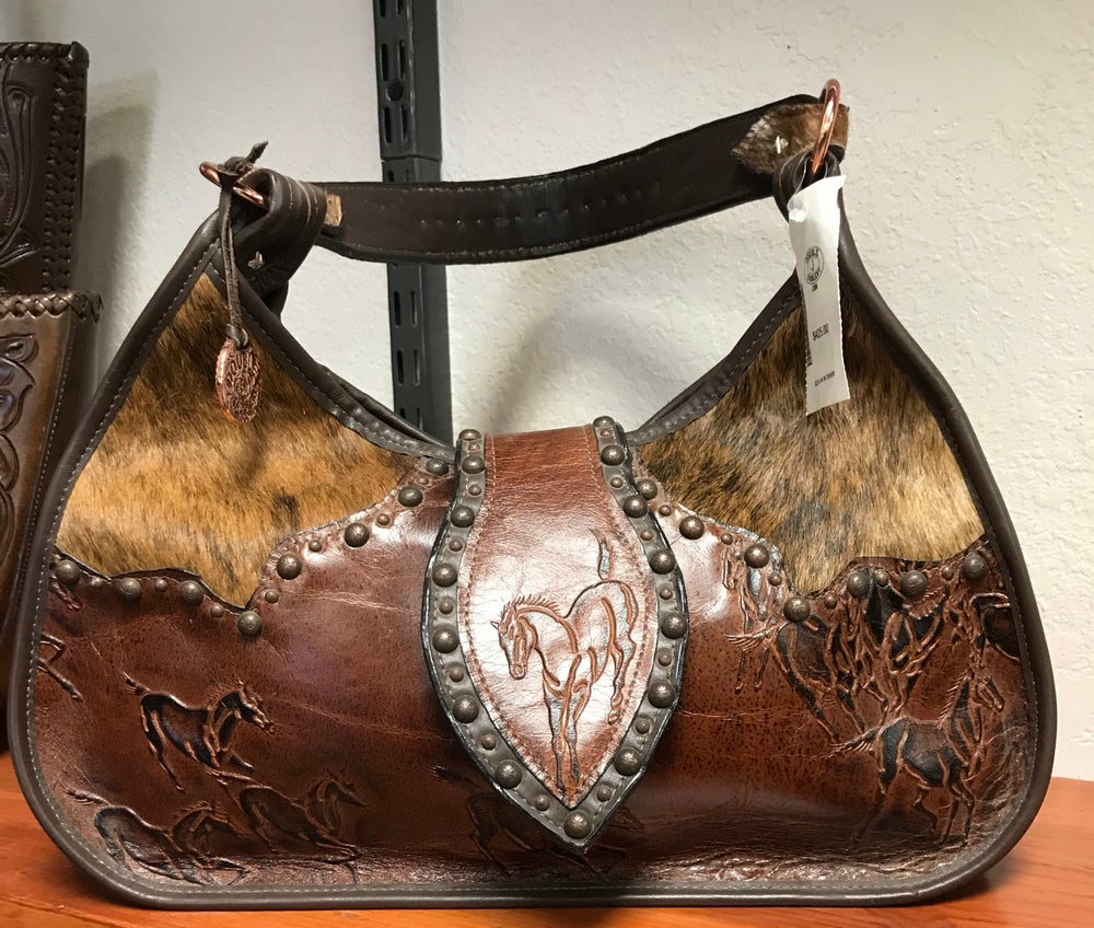 Double J Saddlery Wild Horse Purse