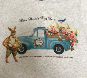 Peter Rabbit Easter Farm Truck T-Shirt TSHIRT Tee