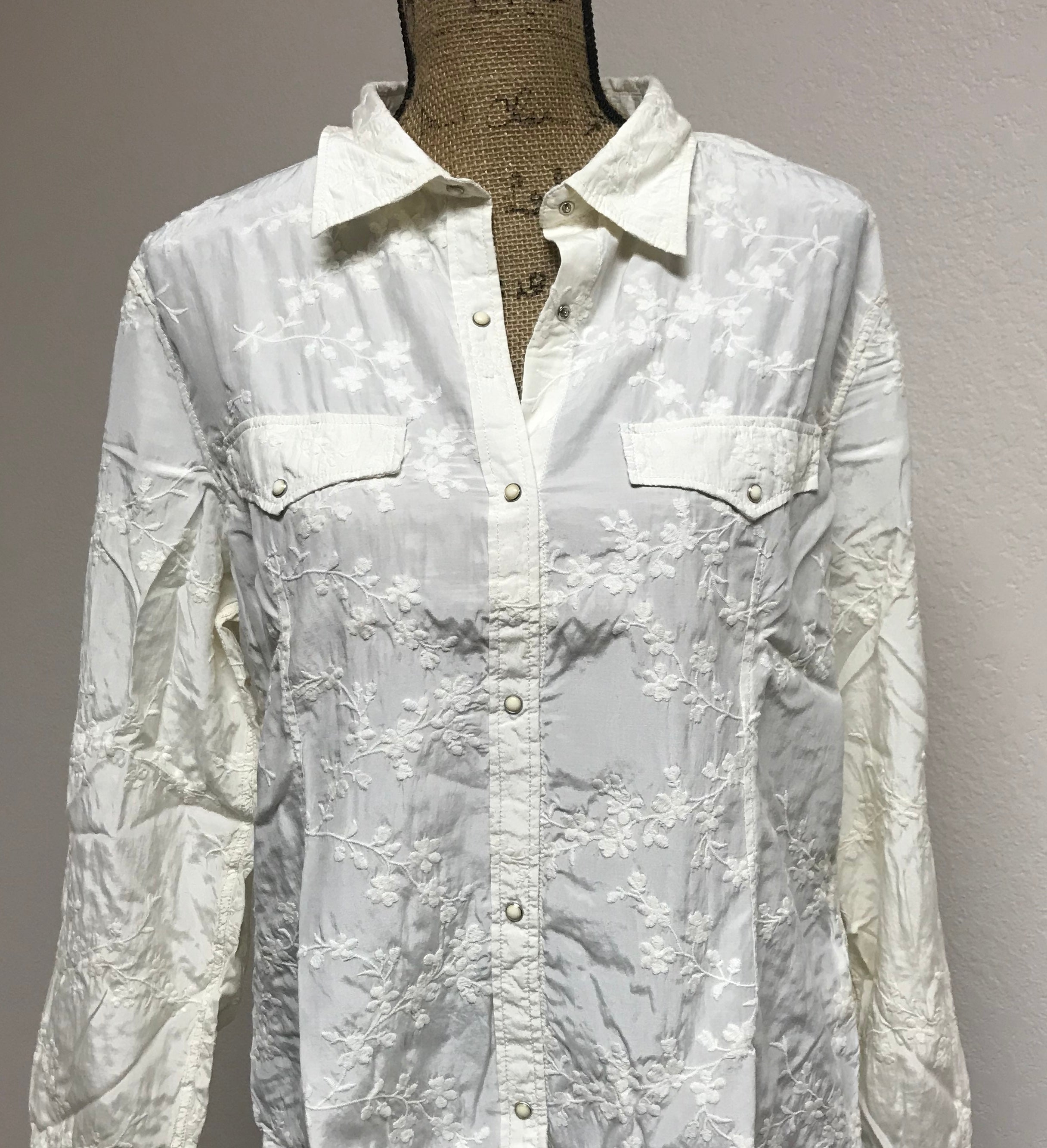 Ryan Michael;s Embroidered Ladies Shirt