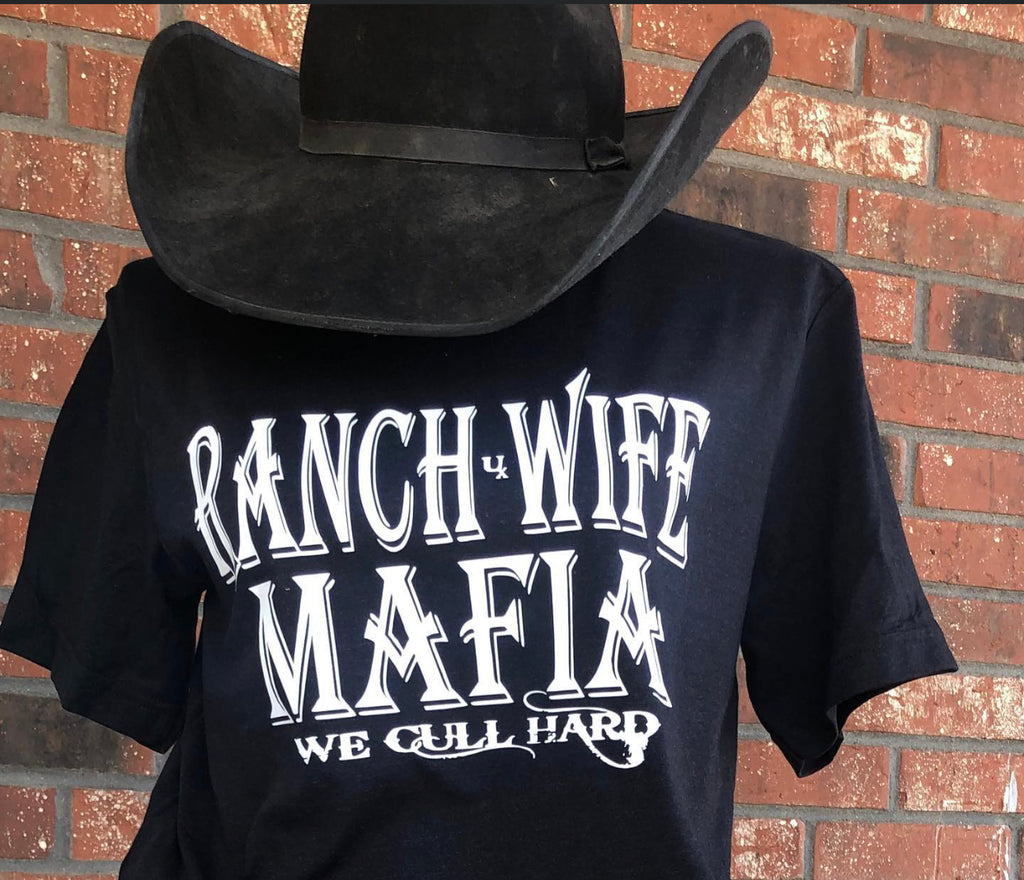 Black Ranch Mafia T-Shirt Tee