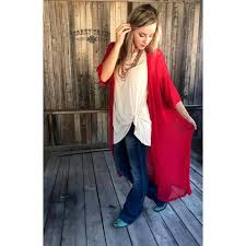 Light Weight Red Duster