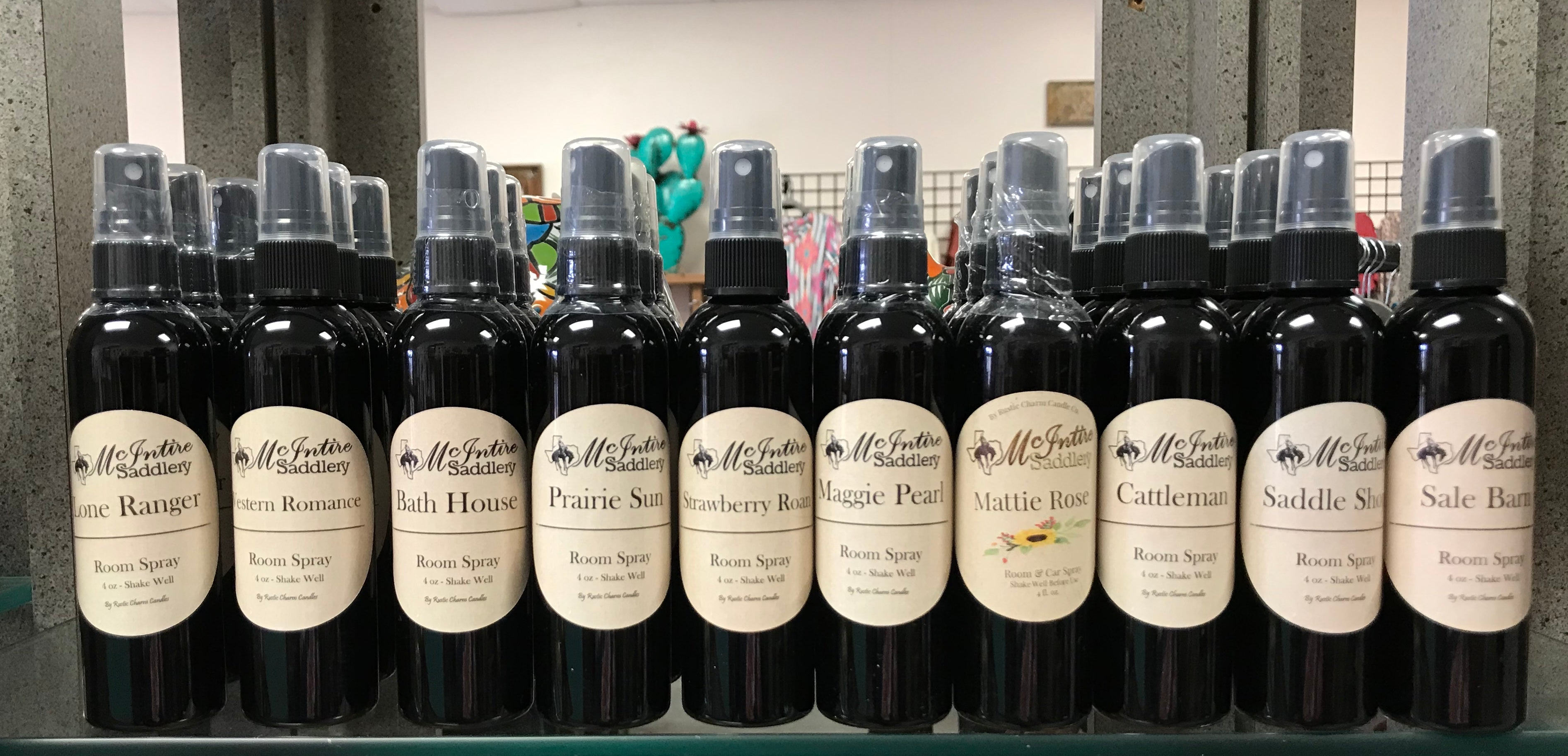 McIntire Saddlery Room Spray 4 oz.