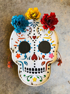 Day of The Dead Wall Metal Art - Pick Up
