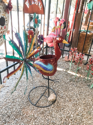 Red Peacock Spinner - Planter - MUST PICK UP