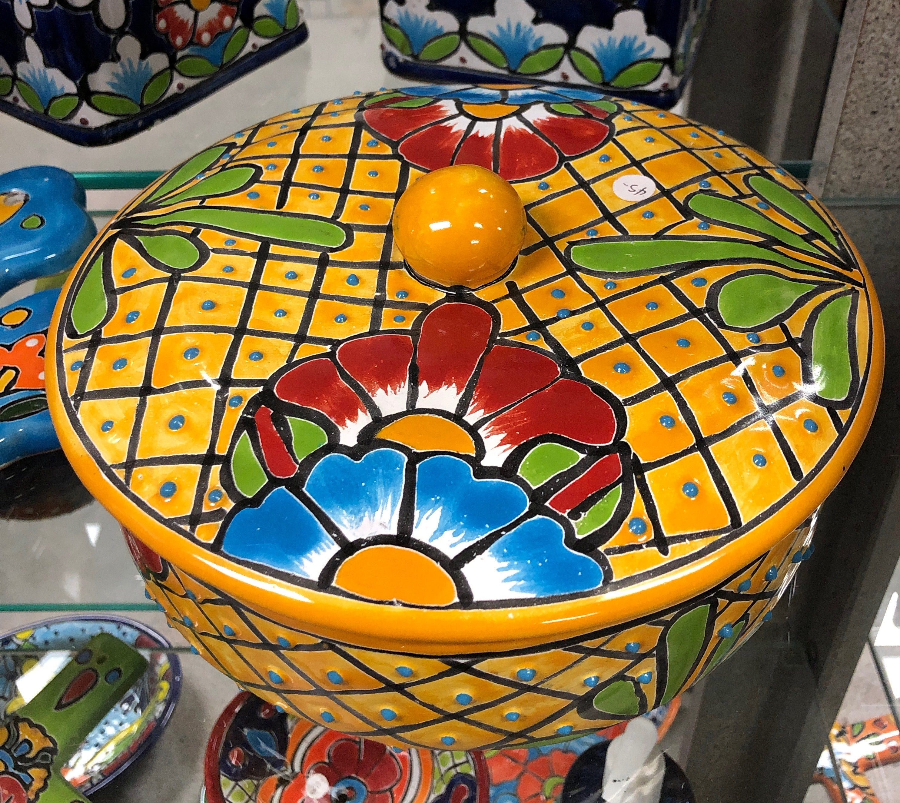 Talavera Tortilla Warmer Saver Holder - MUST PICK UP