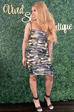 Load image into Gallery viewer, Camo Dress