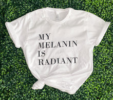 Load image into Gallery viewer, Melanin Tee- White