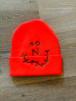 Inner Inside Ugly Smile Beanie