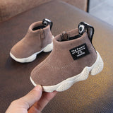 FS Solid Bottom Padded Children's Shoes