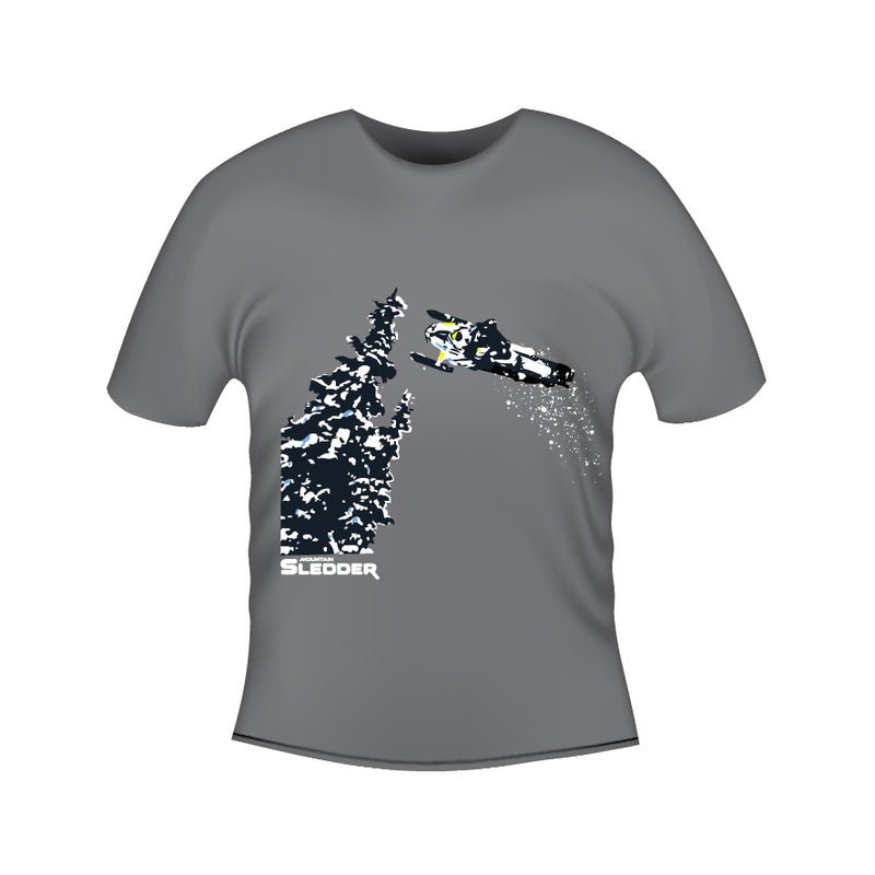 Mountain Sledder Magazine - Whip It Tee