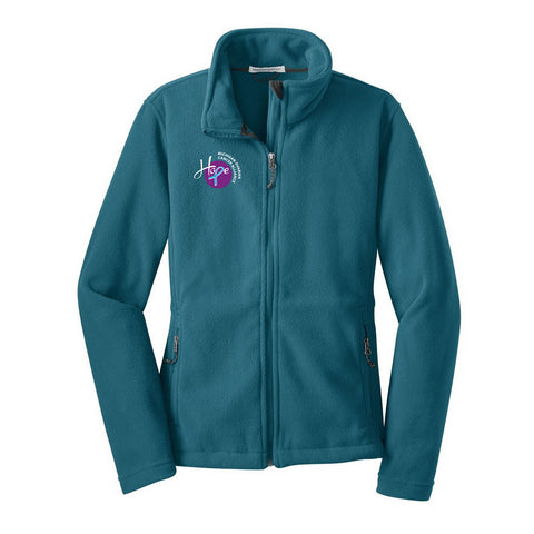 Ladies Fleece Hope Jacket - Teal