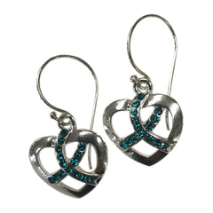 MIOCA Silver Hook Earrings