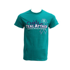 MIOCA Teal Attack T-Shirts - Teal