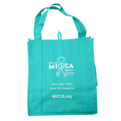 MIOCA Reusable Grocery Tote Bags - Teal