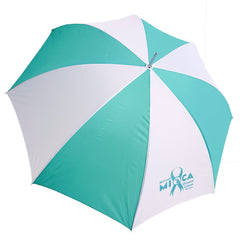 MIOCA Golf Umbrella - Teal/White