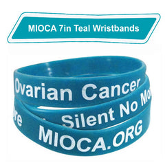 MIOCA 7 in Silicone Bands (10 pack) - Teal