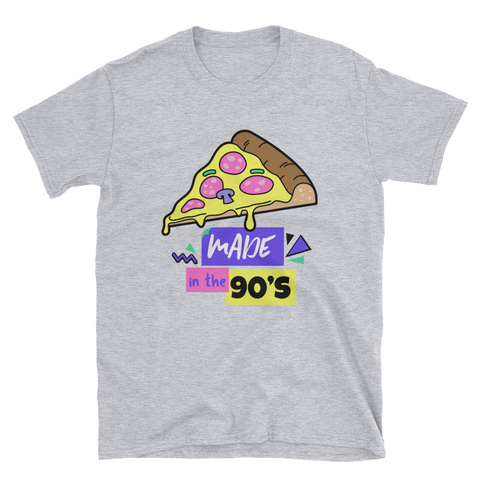 """Made in the 90's"" Short-Sleeve Unisex T-Shirt - LeetBolt"