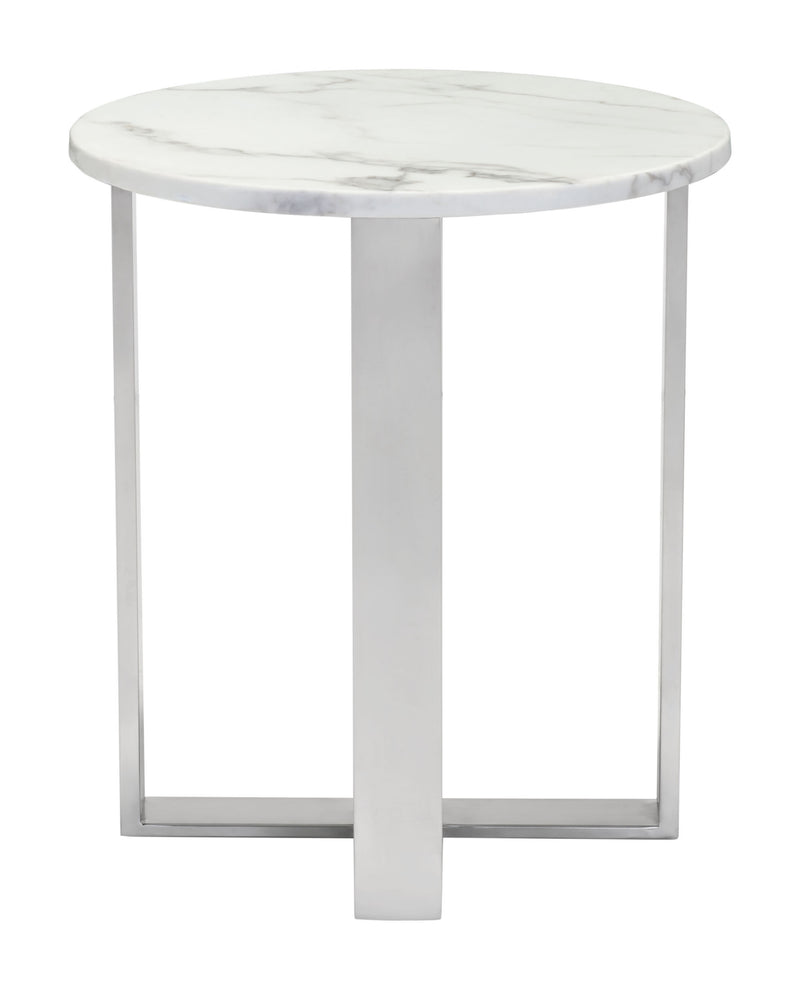 End Table White Marble
