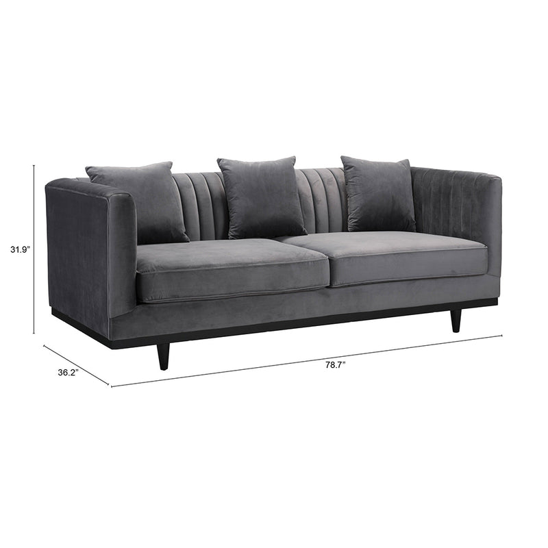 Channel Tufted Sofa