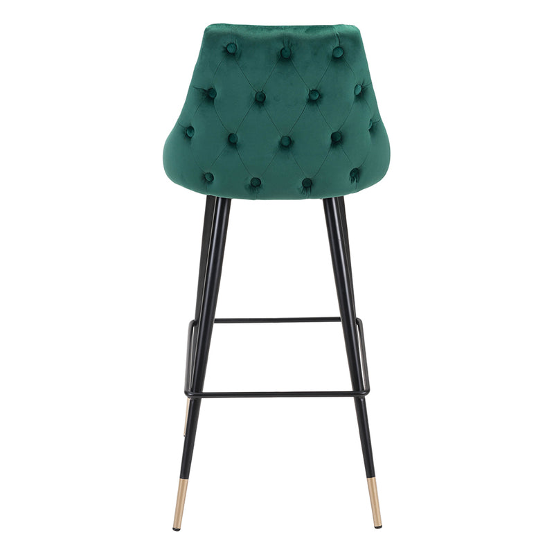 Tufted Back Stool