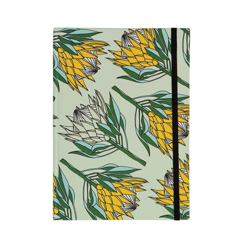 A Love Supreme Hardcover Lined Notebook - King Protea Yellow