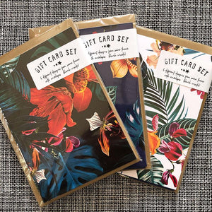 Gift Card Sets - Jungle